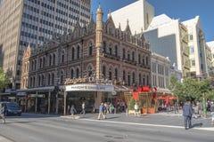 Einkaufsstraße, Adelaide, Australien Stockbilder