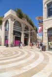 Einkaufsstraße der Alrov-Mamilla-Allee, Jerusalem lizenzfreie stockbilder