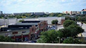 Einkaufsstraße von oben genanntem lizenzfreie stockfotografie
