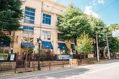 Einkaufsstraße Kitano Meister Garden Torroad in Kobe, Japan stockbild