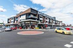 Einkaufsstreifen in Springvale in Melbourne Lizenzfreies Stockbild