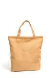 Einkaufstasche hergestellt aus aufbereitetem Sackstoff heraus Lizenzfreies Stockfoto