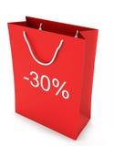 Einkaufstasche (Verkauf -30) Lizenzfreie Stockfotografie