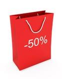 Einkaufstasche (Verkauf -50) Stockbild