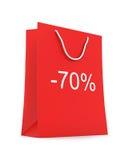 Einkaufstasche (Verkauf -70) Lizenzfreie Stockbilder