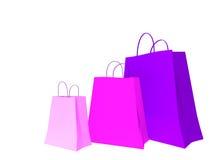 Einkaufstaschen stock abbildung