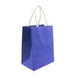 Einkaufstaschen lokalisiert auf weißem Hintergrund Lizenzfreies Stockfoto