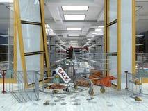 Einkaufsverkaufs-Konzepthintergrund Lizenzfreie Stockfotografie