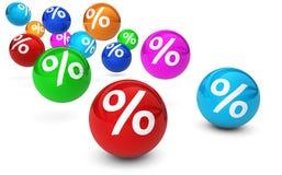 Einkaufsverkaufs-Reduzierungs-Angebot und Rabatt Lizenzfreie Stockfotografie