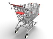 Einkaufswagen stock abbildung