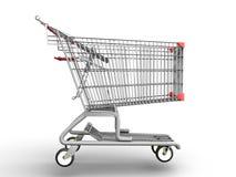 Einkaufswagen lizenzfreie abbildung