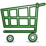 Einkaufswagen Stockfoto