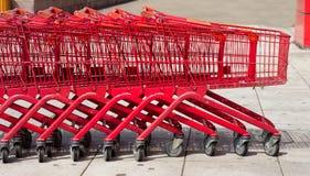 Einkaufswagen Stockfotos