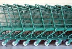 Einkaufswagen Lizenzfreie Stockfotos