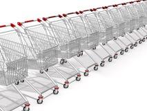 Einkaufswagen Stockbild