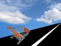 Einkaufswagen #4 stockbilder