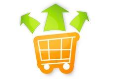 Einkaufswagen Royalty Free Stock Photography