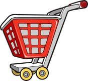 Einkaufswagen-vektorabbildung Stockbild