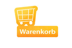 Einkaufswagen  Warenkorb. A Warenkorb trolley- icon made in photoshop. It can be used as a icon on websites or e-stores Stock Image