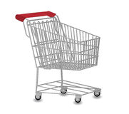 Einkaufswagenabbildung Stockfoto
