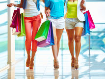Einkaufsweg Lizenzfreie Stockfotos