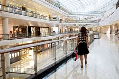 Einkaufszentrum Stockfoto