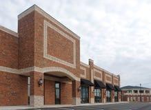 Einkaufszentrum-Aufbau Lizenzfreie Stockfotografie