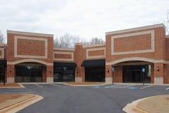 Einkaufszentrum-Aufbau Lizenzfreies Stockbild