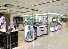 Einkaufszentrum-Kosmetik widersprechen Stockfotos