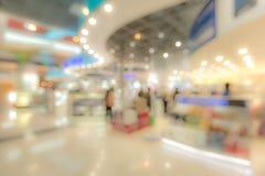 Einkaufszentrum unscharfer Hintergrund Stockfoto