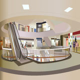 Einkaufszentrum-Vektor Lizenzfreie Stockfotografie