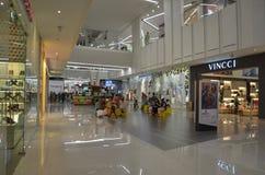 Einkaufszentruminnenraum Stockfoto