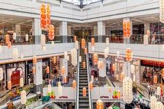 Einkaufszentruminnenraumansicht Lizenzfreies Stockbild