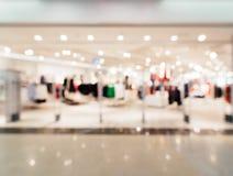 Einkaufszentrumunschärfehintergrund lizenzfreie stockfotos