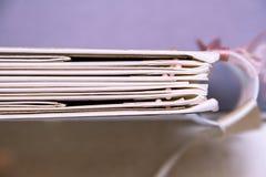 Einklebebuch-Hochzeits-Planer Stockbilder