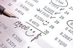 Einkommen stockbilder