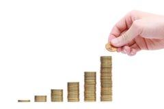 Einkommen Lizenzfreie Stockfotos