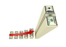Einkommen-Geld lizenzfreie abbildung