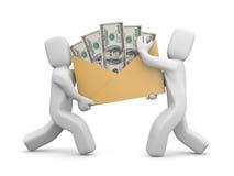 Einkommen oder Gehalt Lizenzfreies Stockbild