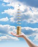 Einkommen ohne Investition Stockfotos
