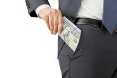 Einkommengeld stockfoto