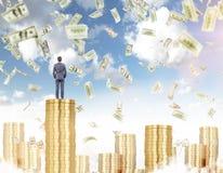 Einkommengeld, Wohlstand Stockfotografie