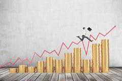Einkommengeld, Wohlstand Lizenzfreies Stockfoto