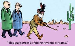 Einkommensquellen Stockfoto