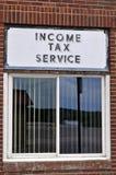 Einkommenssteuer Lizenzfreie Stockfotos