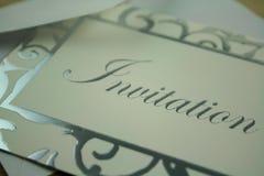 Einladung lizenzfreie stockbilder