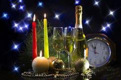 Einladung des neuen Jahres Stockfotografie