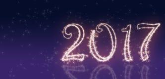 Einladung des neuen Jahres lizenzfreies stockfoto