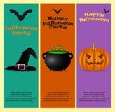 Einladung an eine Halloween-Party Lizenzfreies Stockbild