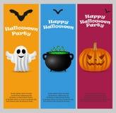 Einladung an eine Halloween-Party Lizenzfreie Stockfotografie